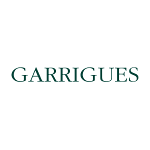 Garrigues logo for clients and organizations using Caselex' Market Definitions Module