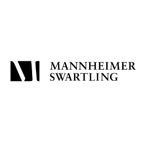Mannheimer Swartling logo for clients and organizations using Caselex' Market Definitions Module