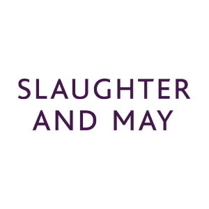 Slaughter & May logo for clients and organizations using Caselex' Market Definitions Module